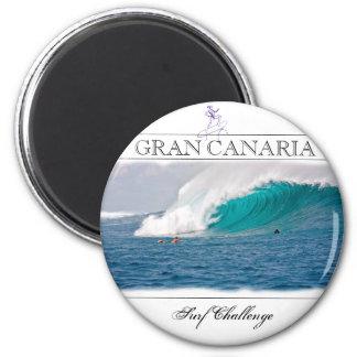 Imã Ímã moderno do desafio do surf de Gran Canaria