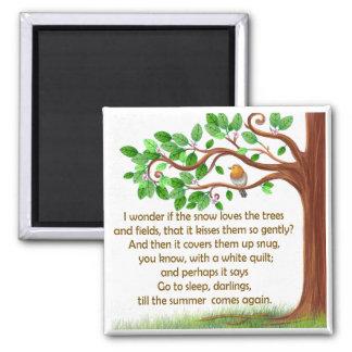 Imã Ímã original do poema da árvore da natureza