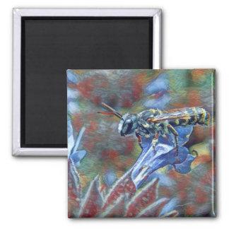 Imã Ímã Painterly da abelha de Leafcutter