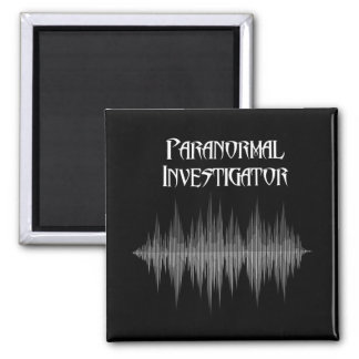 Imã Ímã Paranormal de Soundwave do investigador
