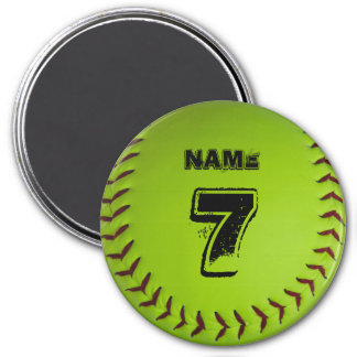 Imã Ímã personalizado do softball