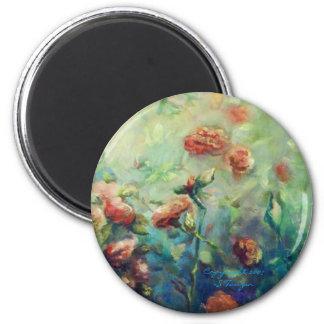 Imã Ímã pintado dos rosas