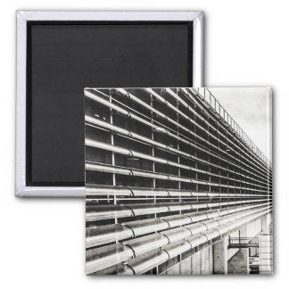 Imã Ímã preto e branco da construção industrial