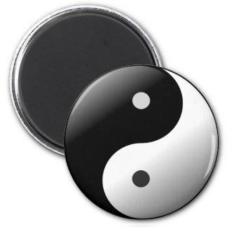Imã Ímã preto e branco de Ying Yang