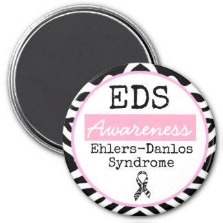 Imã Ímã preto e branco do EDS da síndrome de