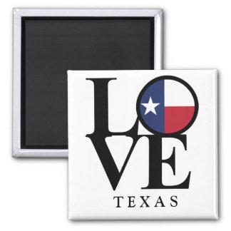 Imã Ímã quadrado de Texas 2x2 do AMOR