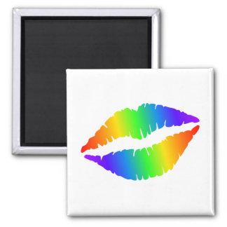 Imã Ímã quadrado dos lábios quentes coloridos