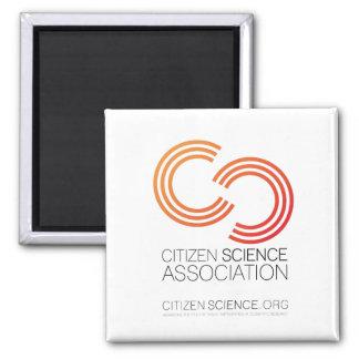 Imã Ímã quadrado, logotipo da associação da ciência do