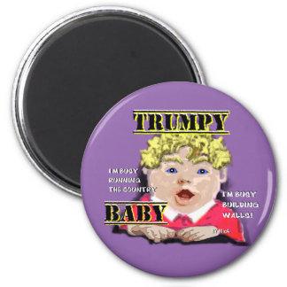 Imã Ímã redondo do bebê de Trumpy