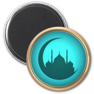 Imã Ímã redondo do fundo da mesquita