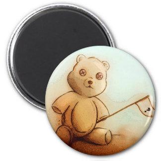 Imã Ímã redondo do urso de ursinho dos miúdos de