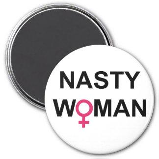 Imã Ímã redondo do voto desagradável da mulher