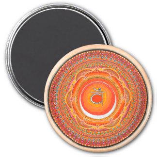 Imã Ímã sacral da mandala de Chakra