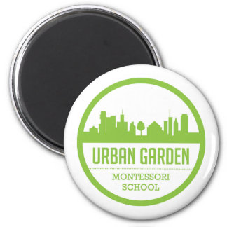 Imã Ímã urbano de Montessori do jardim