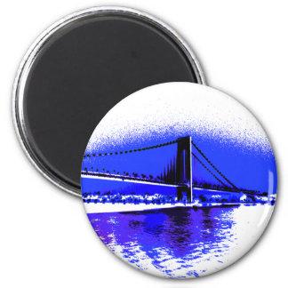 Imã Ímã violeta da ponte de Verrazano