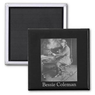 Imã Imagem preta da história | de Bessie Coleman