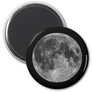 Imã Imagens lunares da Lua cheia do espaço