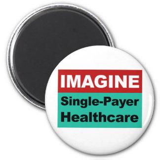 Imã Imagine únicos cuidados médicos do pagador