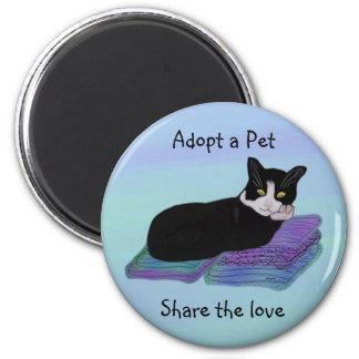 Imã Ímãs da adopção do animal de estimação da sesta do