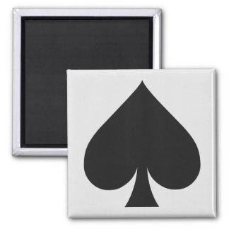 Imã Ímãs do jogador de cartão - pá
