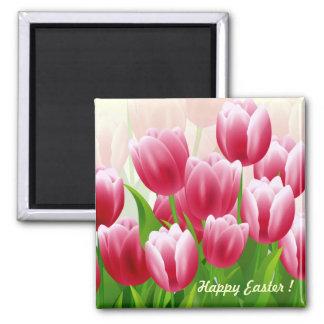 Imã Ímãs do presente da páscoa das tulipas do