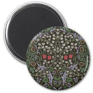 Imã Impressão da arte da tapeçaria da ameixoeira-brava
