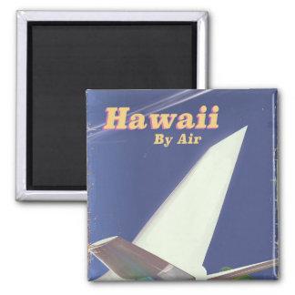 Imã Impressão das férias do vintage do vôo de Havaí