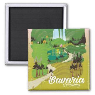 Imã Impressão do viagem da paisagem de Baviera