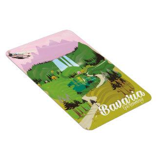 Ímã Impressão do viagem da paisagem de Baviera