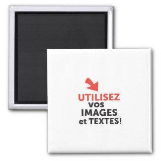 Imã Imprimir as vossas concepções em linha em francês