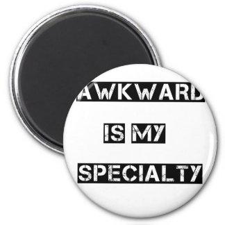 Imã inábil é minha especialidade
