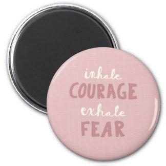 Imã Inale a coragem expiram o medo