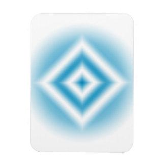 Ímã inclinação azul do diamante do Personalizar-céu