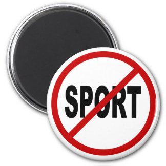 Imã Indicação permitida esporte do sinal de /No do