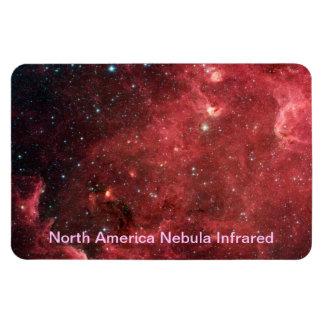 Ímã Infravermelho da nebulosa de America do Norte
