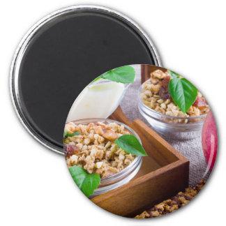 Imã Ingredientes saudáveis para o pequeno almoço