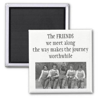 Imã Inspirado ao longo das citações da amizade da