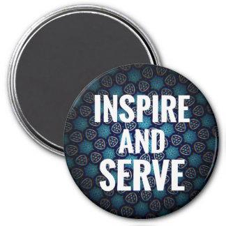 Imã Inspire e servir o ímã