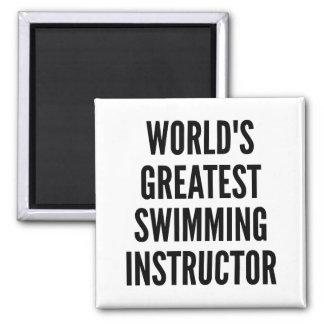 Imã Instrutor da natação dos mundos o grande