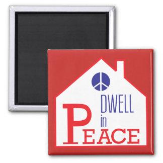 Imã Interrupção no ímã da paz