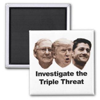 Imã Investigue a ameaça tripla
