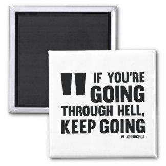 Imã Ir Keep! - Ímã inspirado