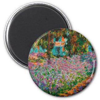 Imã Íris em Giverny Claude Monet