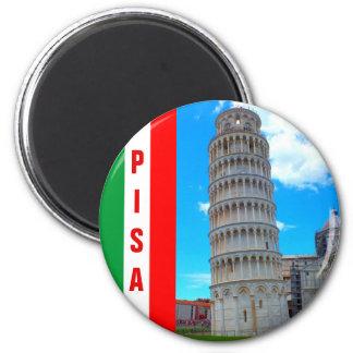 Imã Italia - a torre inclinada de Pisa