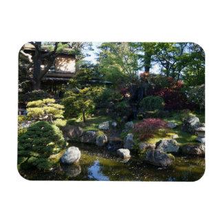Ímã japonês da foto do jardim de chá #2 de San