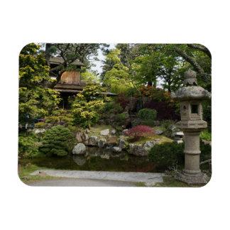 Ímã japonês da foto do jardim de chá #3 de San