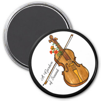 Imã Jardim do som - o violino