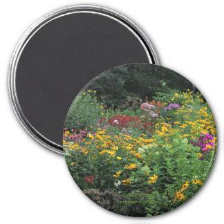 Imã Jardins coloridos do fim do verão!