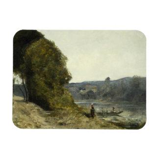 Ímã Jean-Baptiste-Camilo Corot - a partida