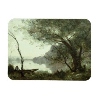 Ímã Jean-Baptiste-Camilo Corot - barqueiro